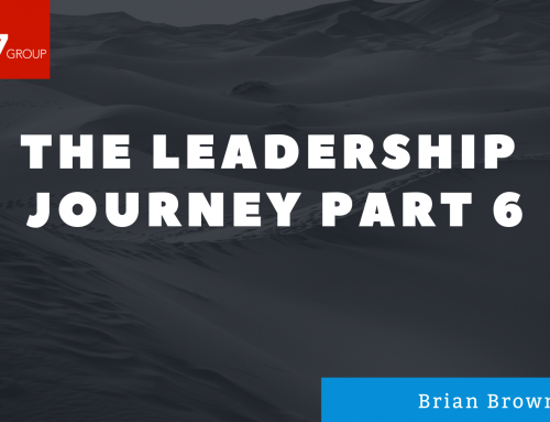 The Leadership Journey Part 6